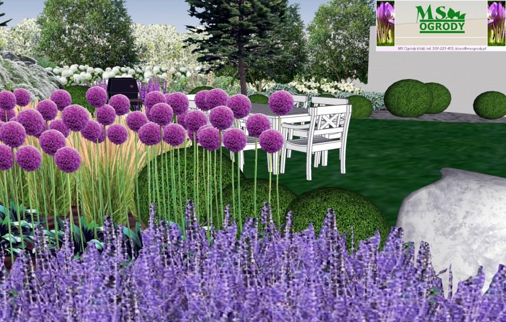 Ogrody projekty, projekt ogrodu, projektowanie ogrodów, MS Ogrody Łódź