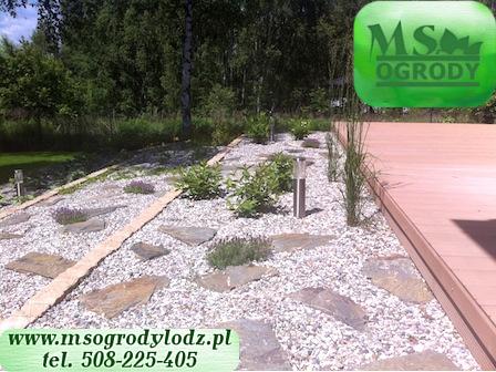 MS Ogrody Łódź - budowa tarasów - tarasy Łódź woj. łódzkie 12