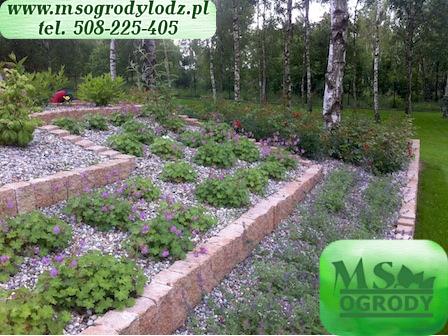 MS Ogrody Łódź - projektowanie zakładanie pielęgnacja ogrodów łódzkie 2
